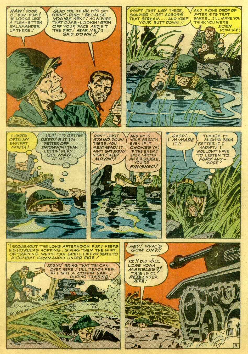 Read online Sgt. Fury comic -  Issue # _Annual 1 - 50