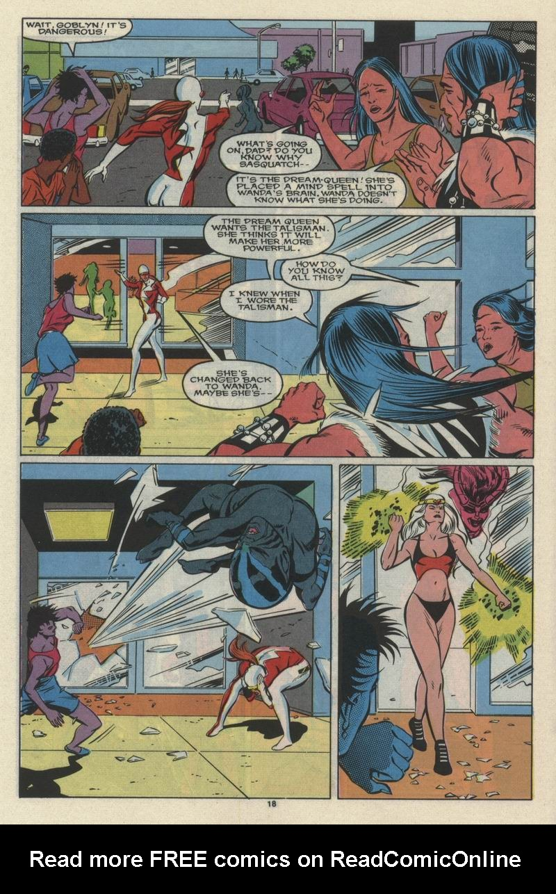 Read online Alpha Flight (1983) comic -  Issue #68 - 20