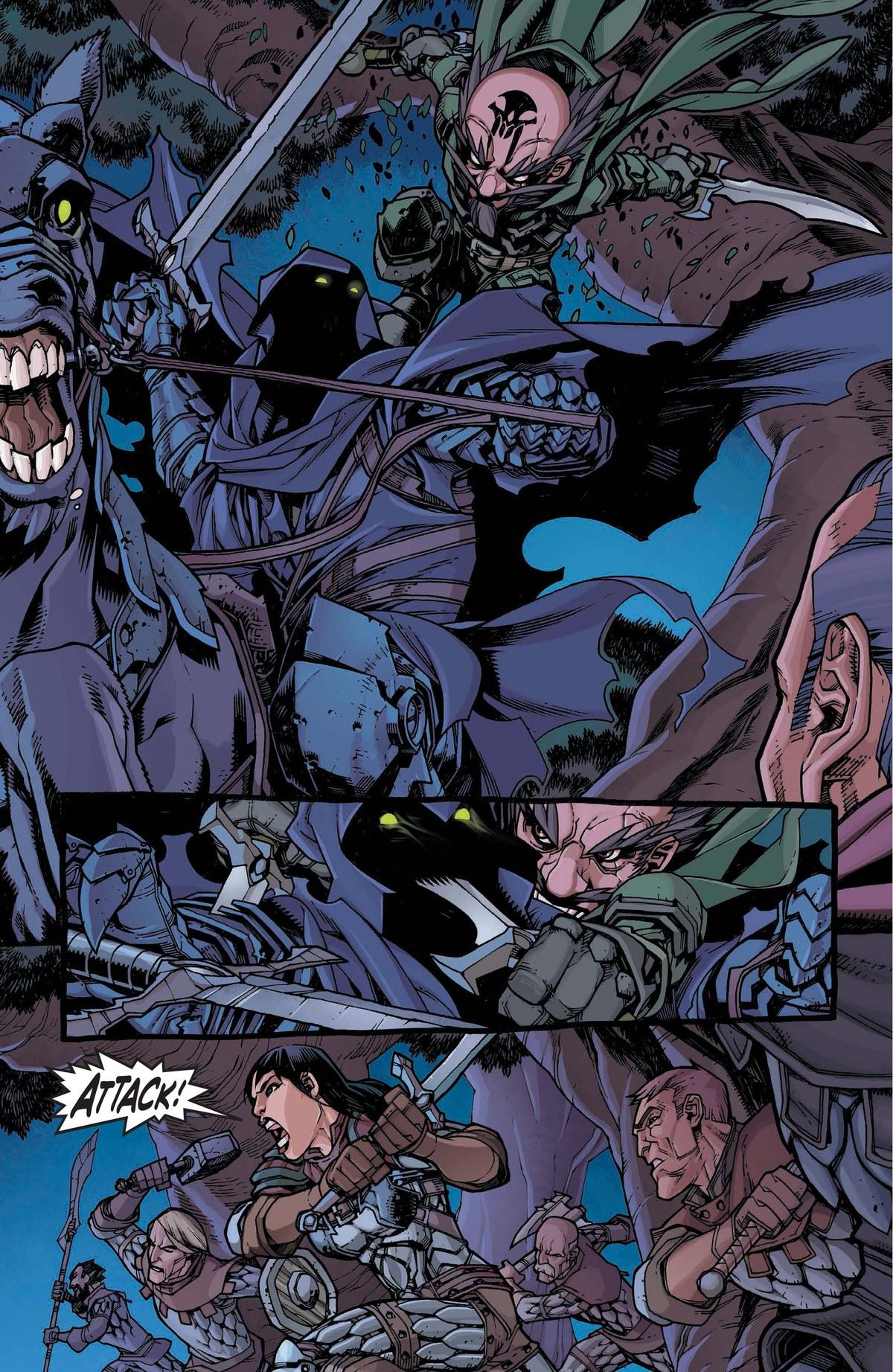 Read online World of Warcraft: Dark Riders comic -  Issue # Full - 98
