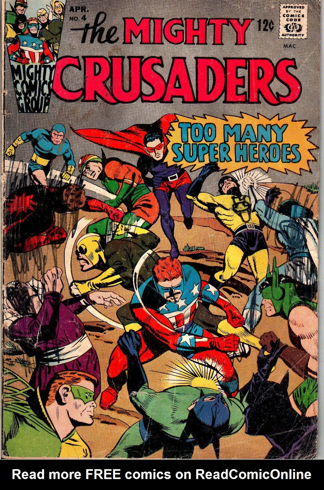 The Mighty Crusaders (1965) Issue #4 #4 - English 1