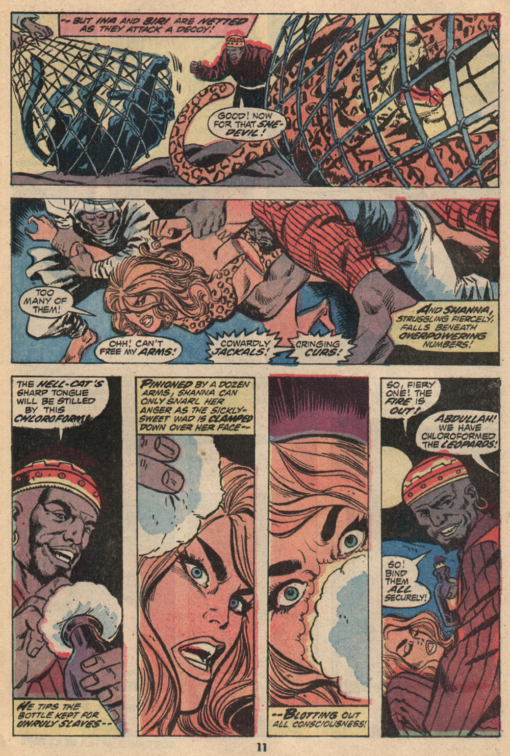 Read online Shanna, the She-Devil (1972) comic -  Issue #2 - 9