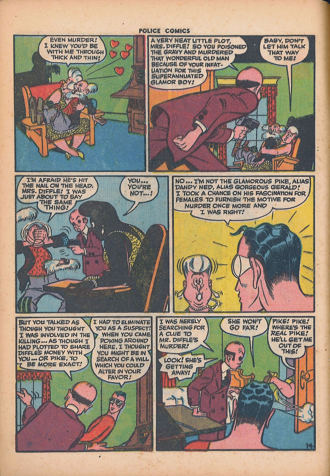 Police Comics issue 44 - Page 16
