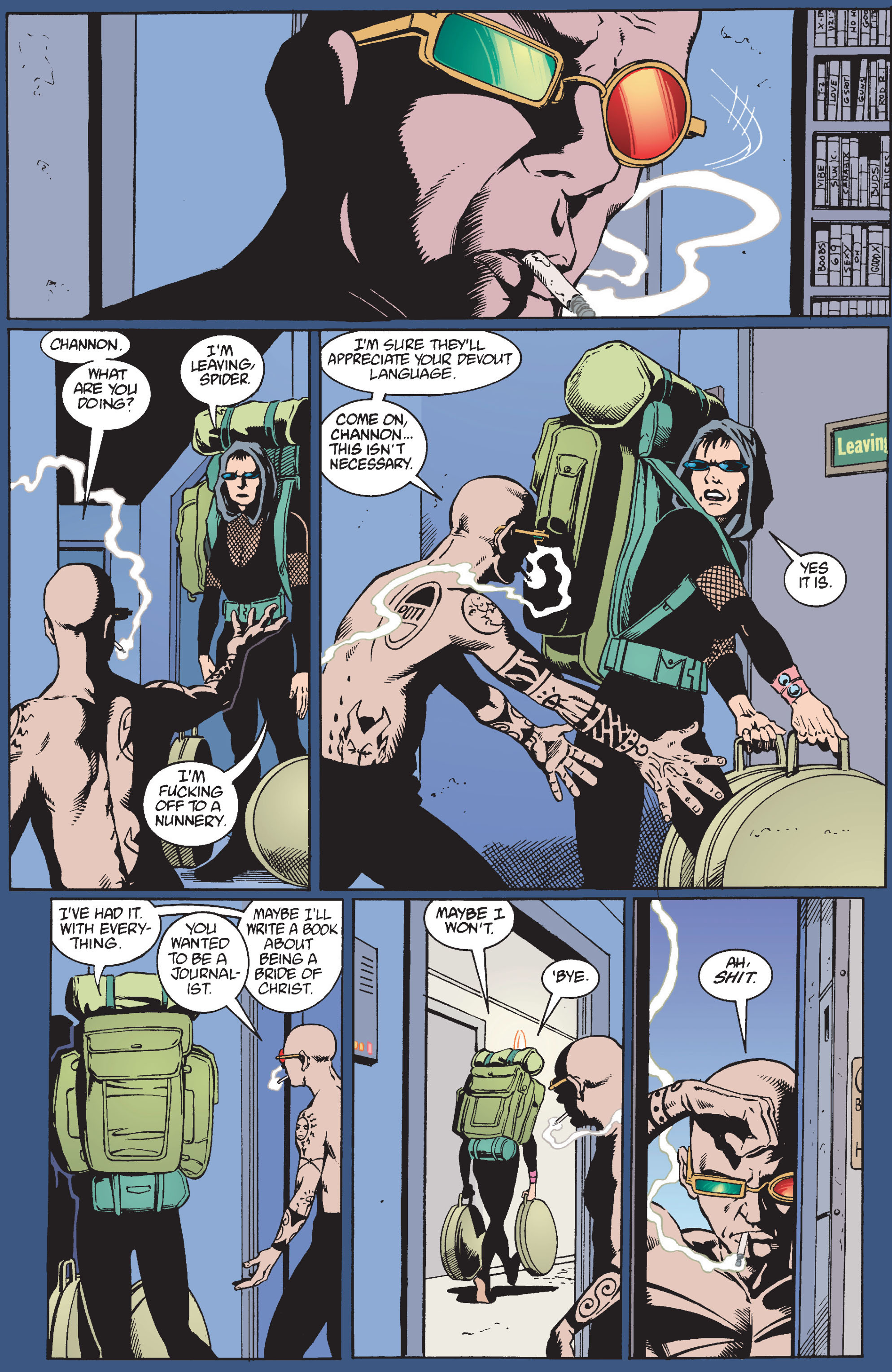 Read online Transmetropolitan comic -  Issue #10 - 5