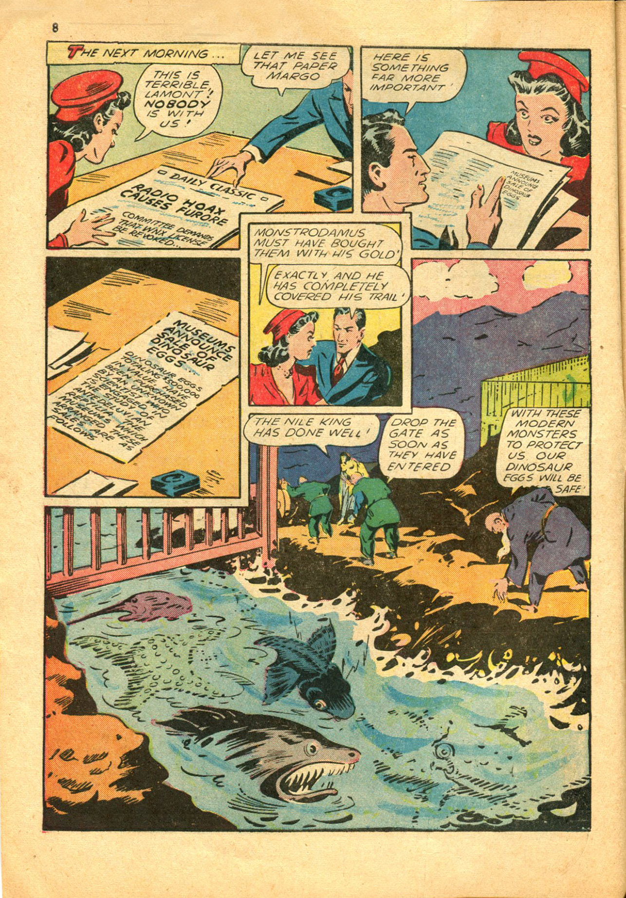 Read online Shadow Comics comic -  Issue #30 - 8