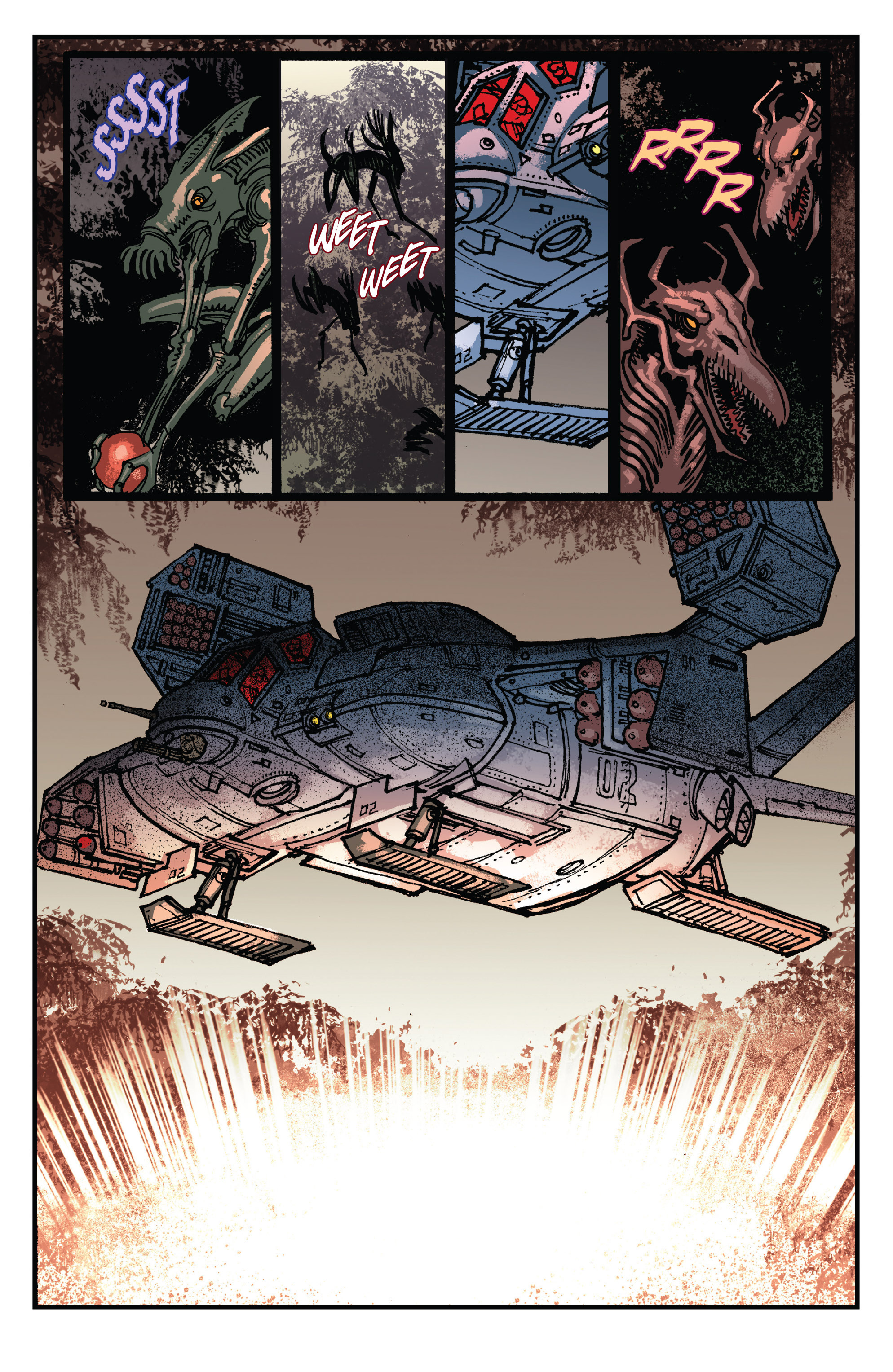 Read online Aliens: Life And Death comic -  Issue #2 - 19