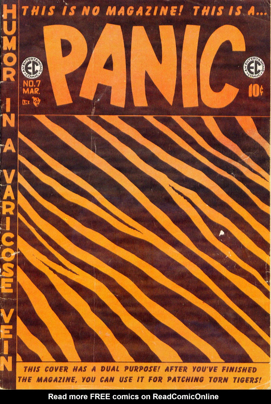 Panic issue 7 - Page 1