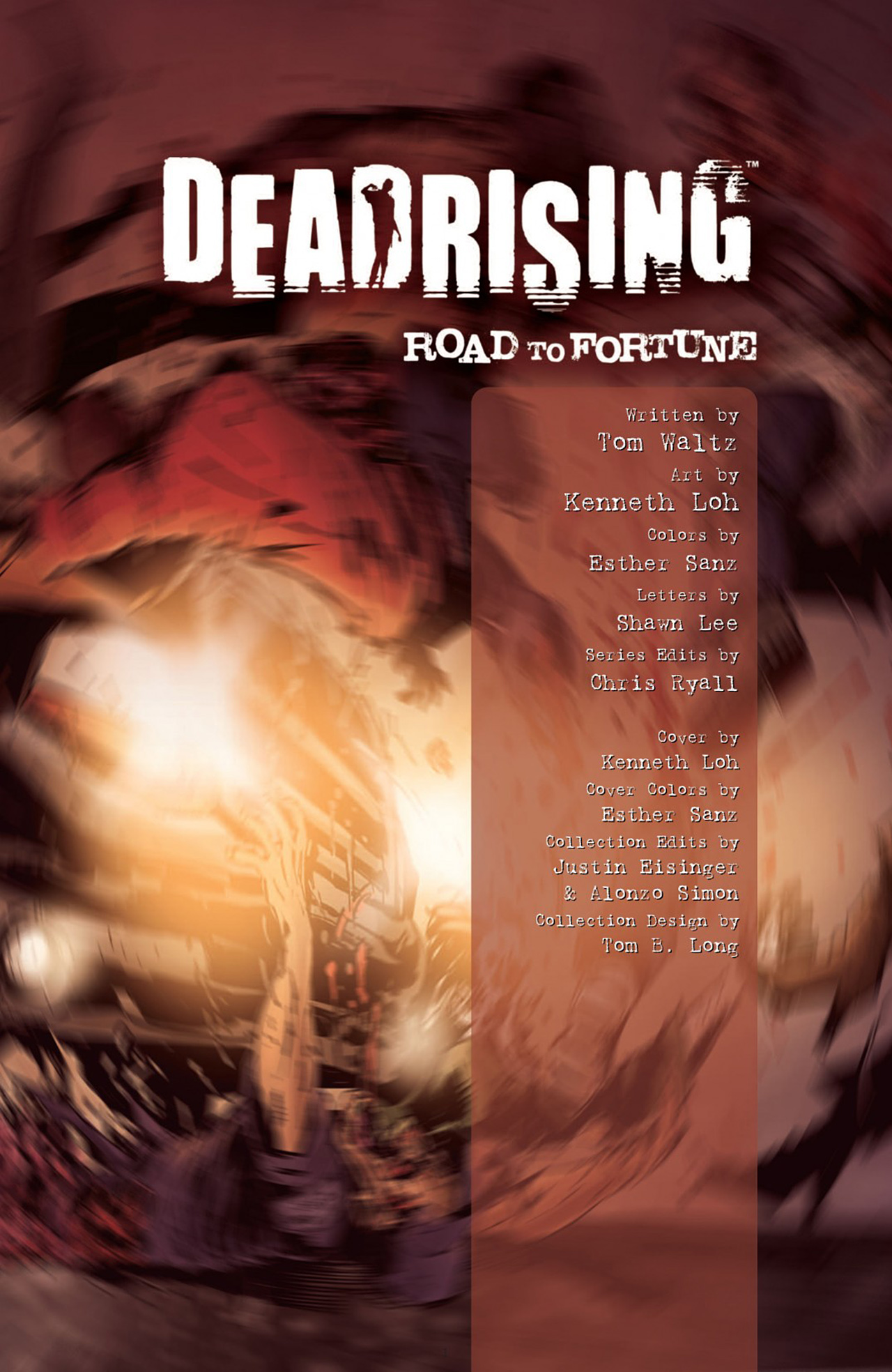 Read online Dead Rising: Road to Fortune comic -  Issue # TPB - 3