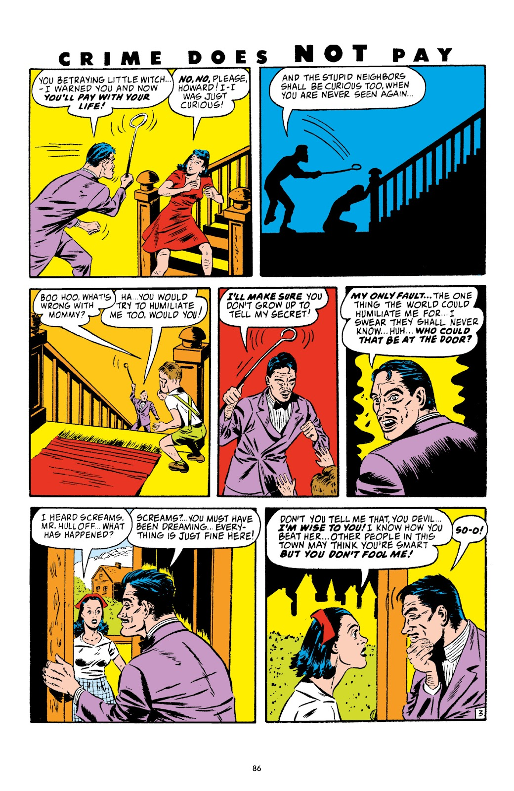 Read online Crime Does Not Pay Archives comic -  Issue # TPB 4 (Part 1) - 86