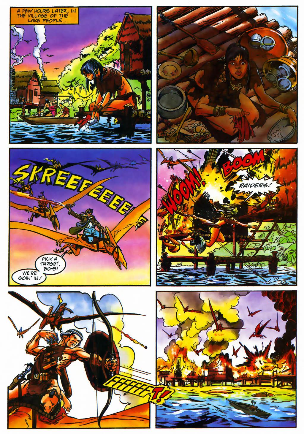 Read online Turok, Dinosaur Hunter (1993) comic -  Issue #26 - 20