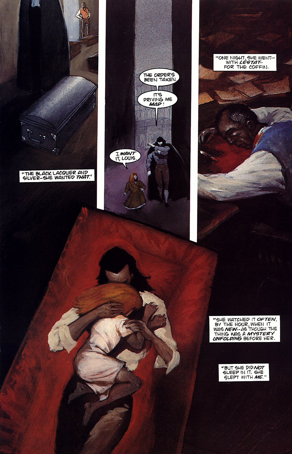 Read online Anne Rice's Interview with the Vampire comic -  Issue #4 - 14