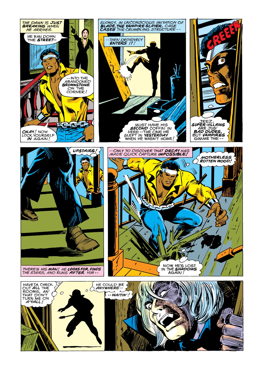 Read online Marvel Masterworks: Luke Cage, Power Man comic -  Issue # TPB 2 (Part 2) - 96