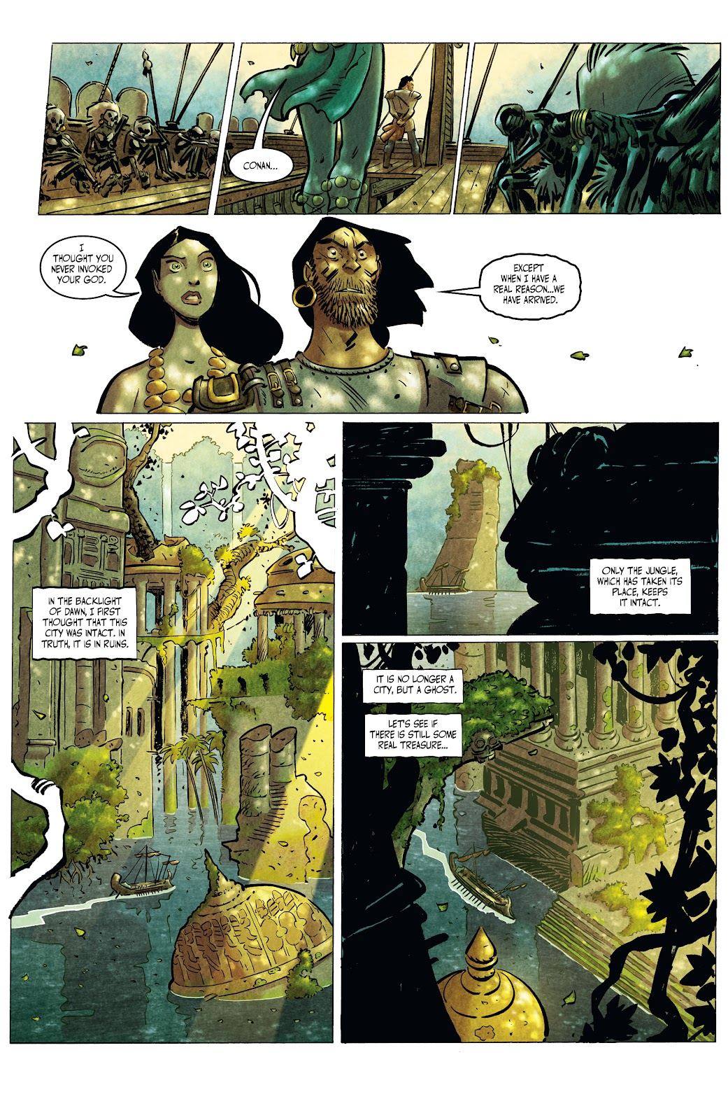 The Cimmerian: Queen of the Black Coast issue 2 - Page 3