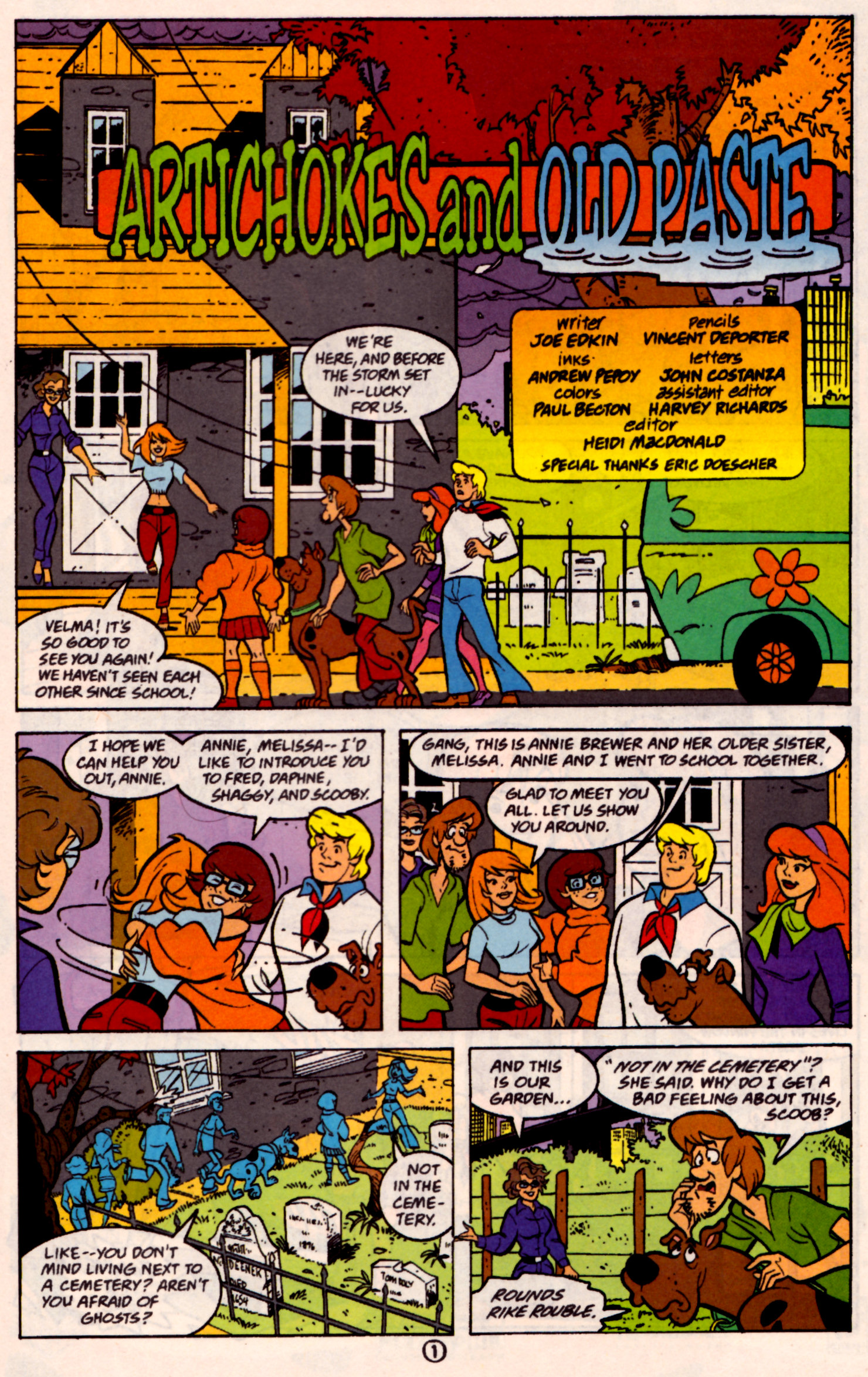Read online Scooby-Doo (1997) comic -  Issue #31 - 14