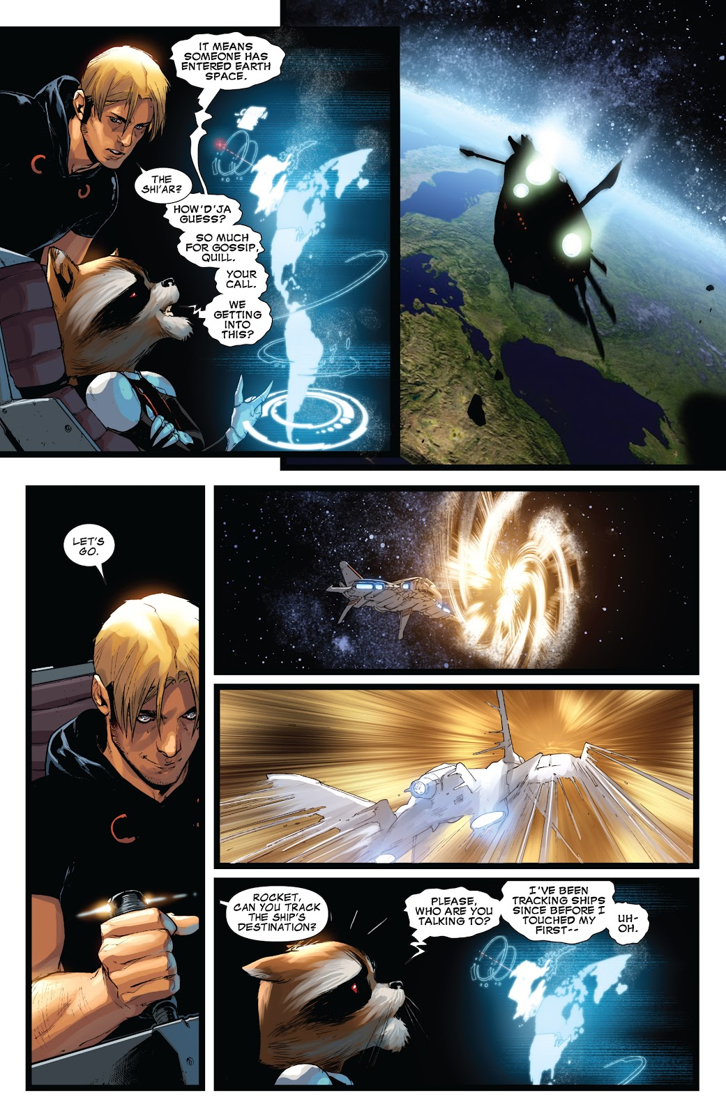 Guardians of the Galaxy/All-New X-Men: The Trial of Jean Grey issue TPB - Page 38