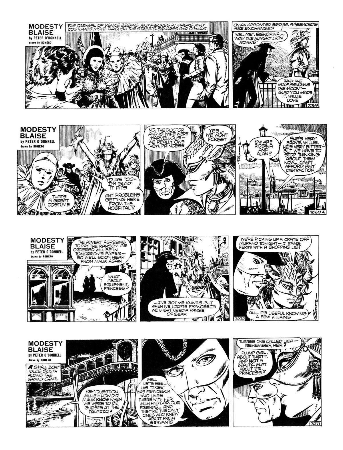 Read online Modesty Blaise Live bait comic -  Issue # TPB - 12