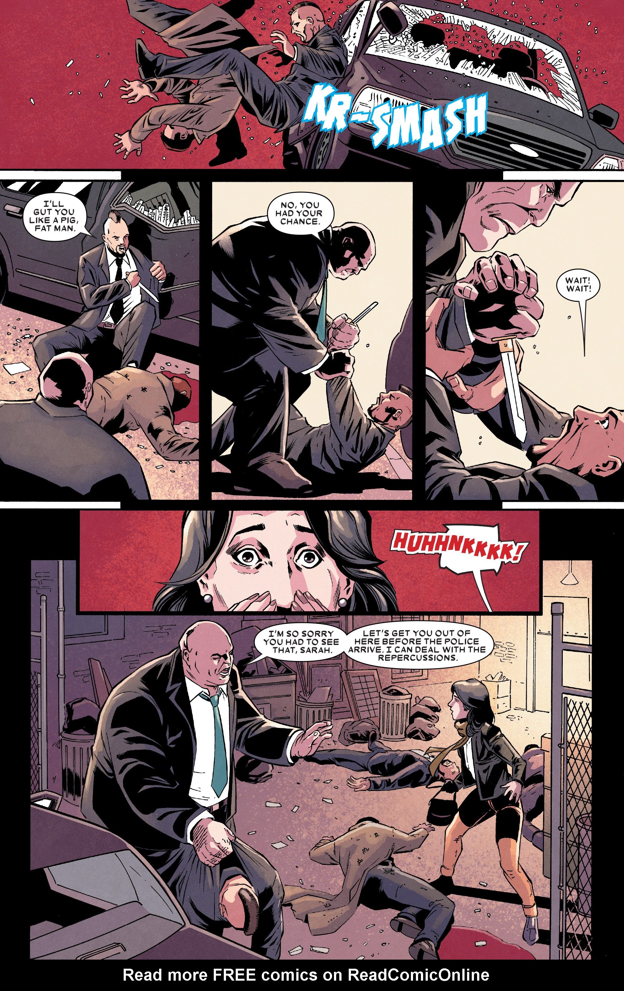 Read online Kingpin (2017) comic -  Issue #4 - 4