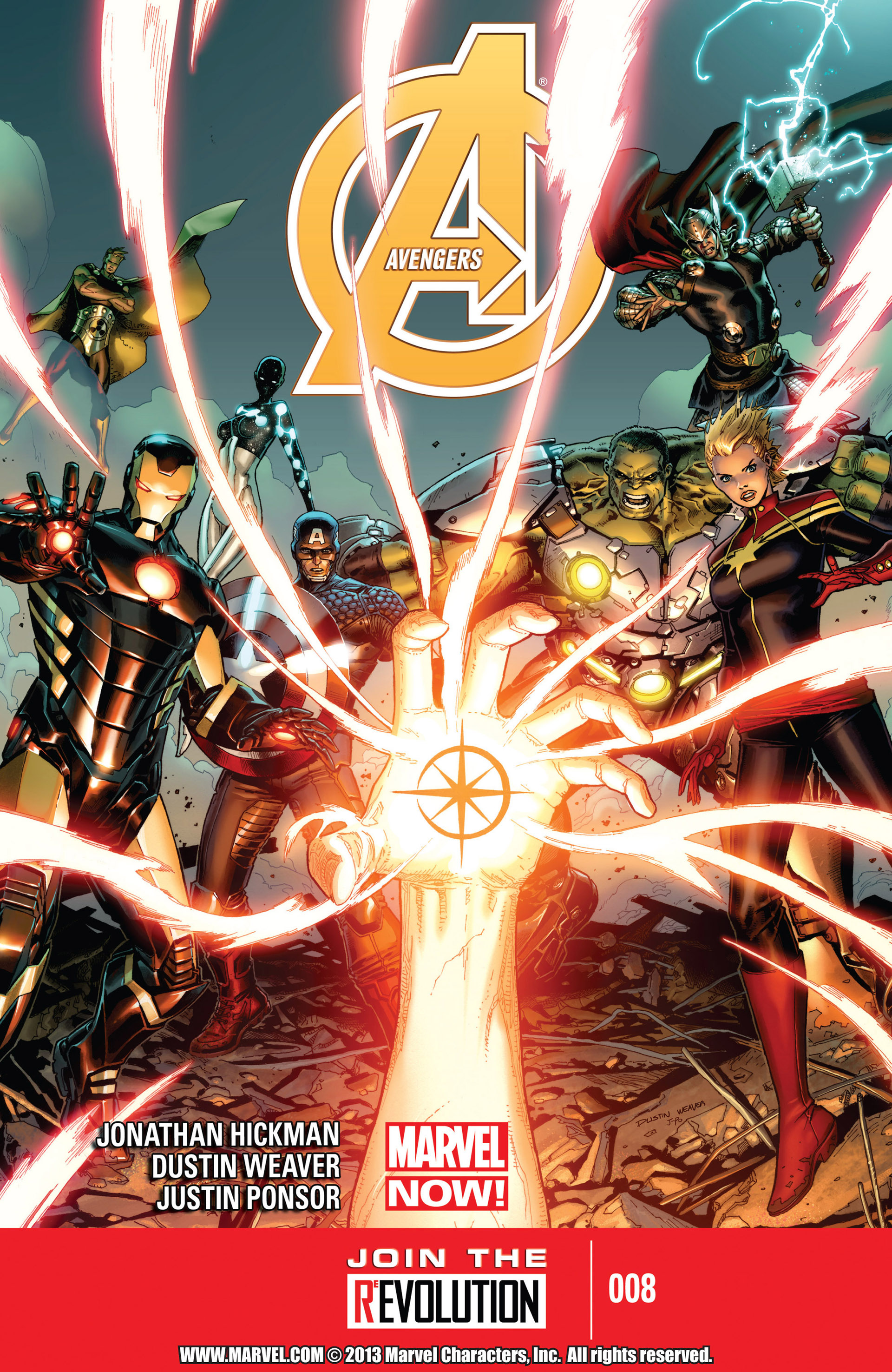 Read online Avengers (2013) comic -  Issue #8 - 1