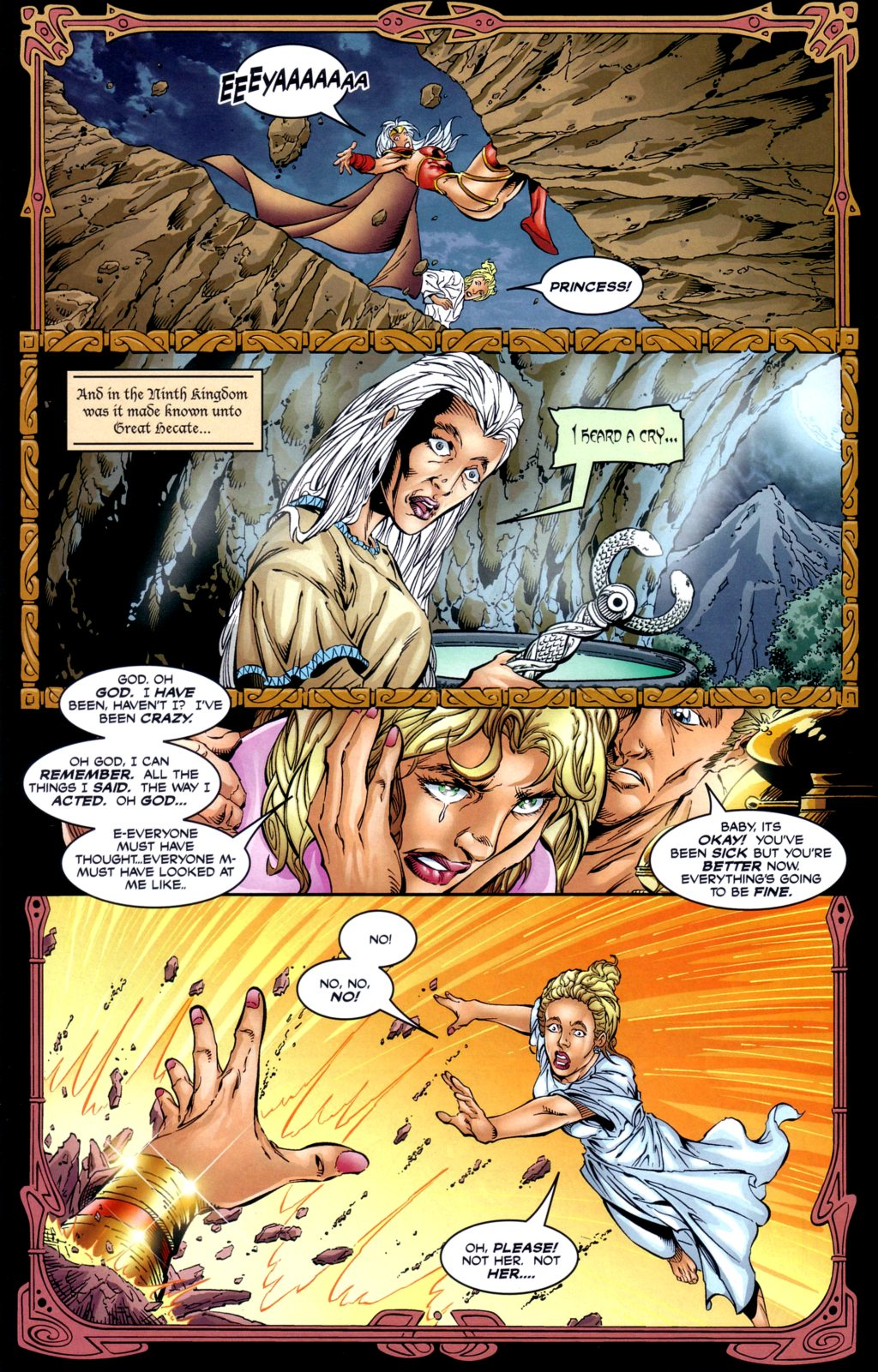 Read online Alan Moore's Glory comic -  Issue #2 - 24