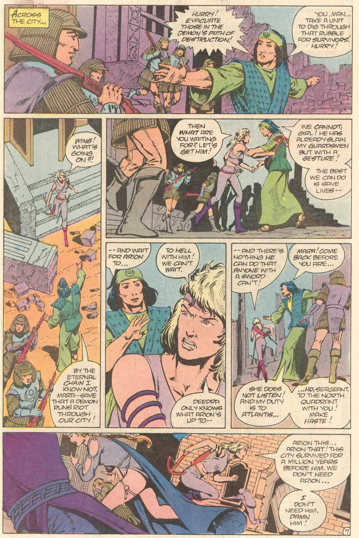 Read online Arion, Lord of Atlantis comic -  Issue #27 - 8