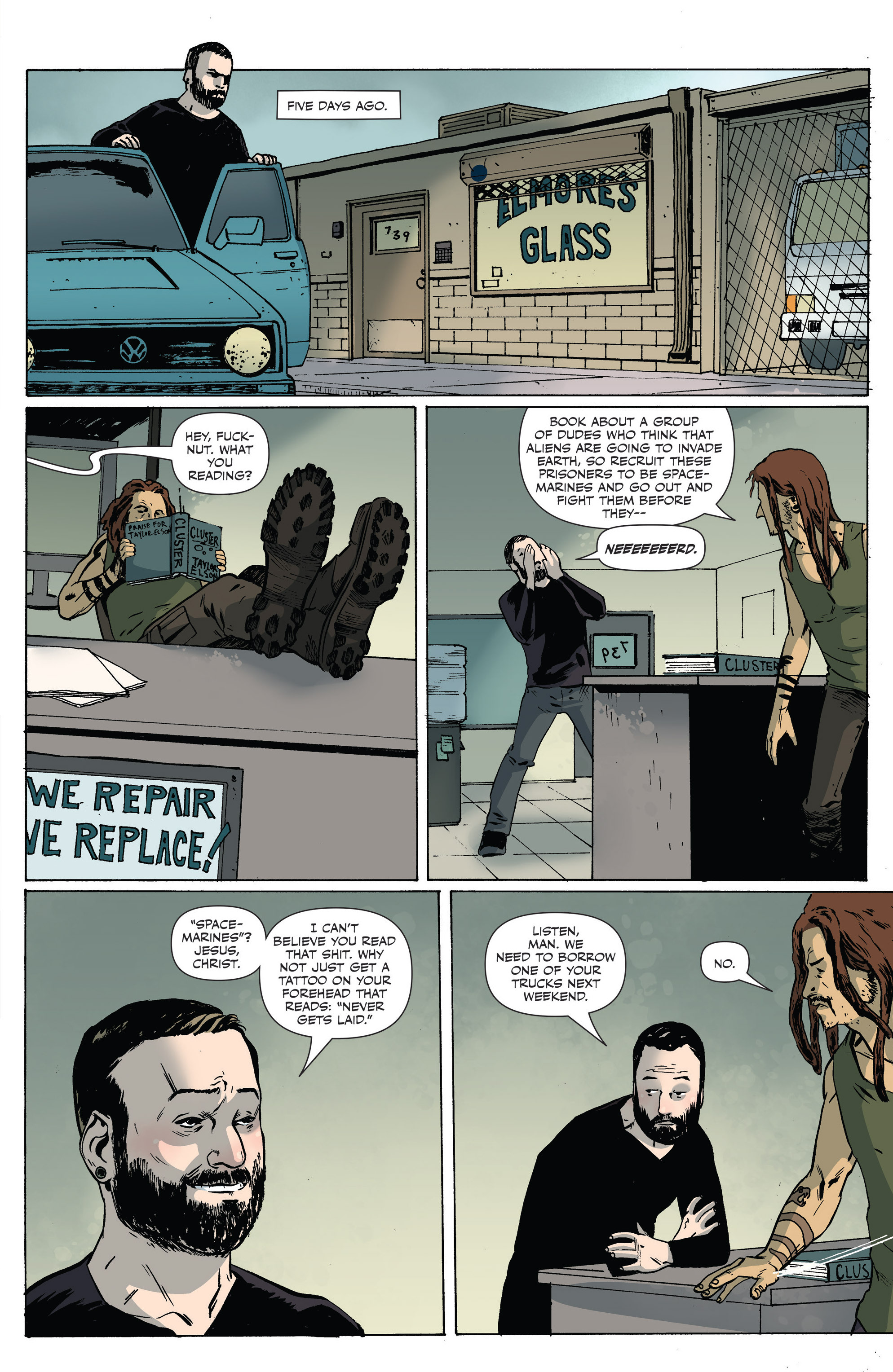 Read online Sheltered comic -  Issue #6 - 7