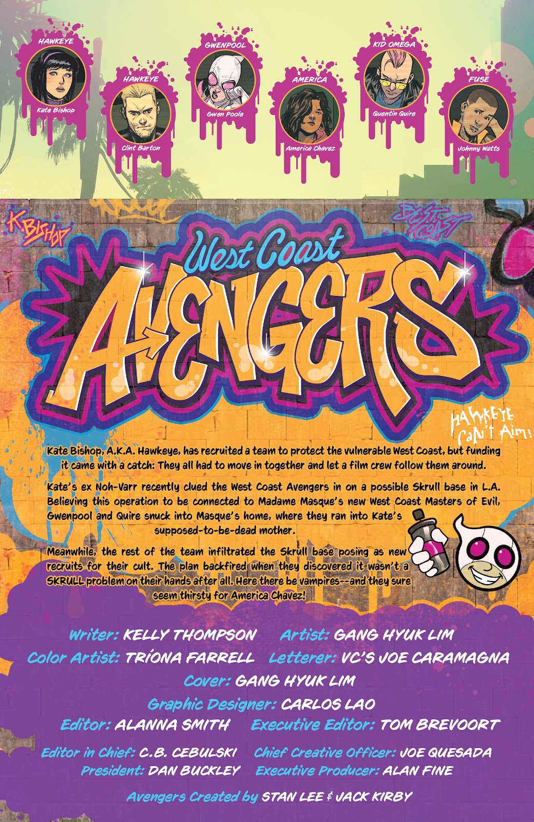 Read online West Coast Avengers (2018) comic -  Issue #9 - 2