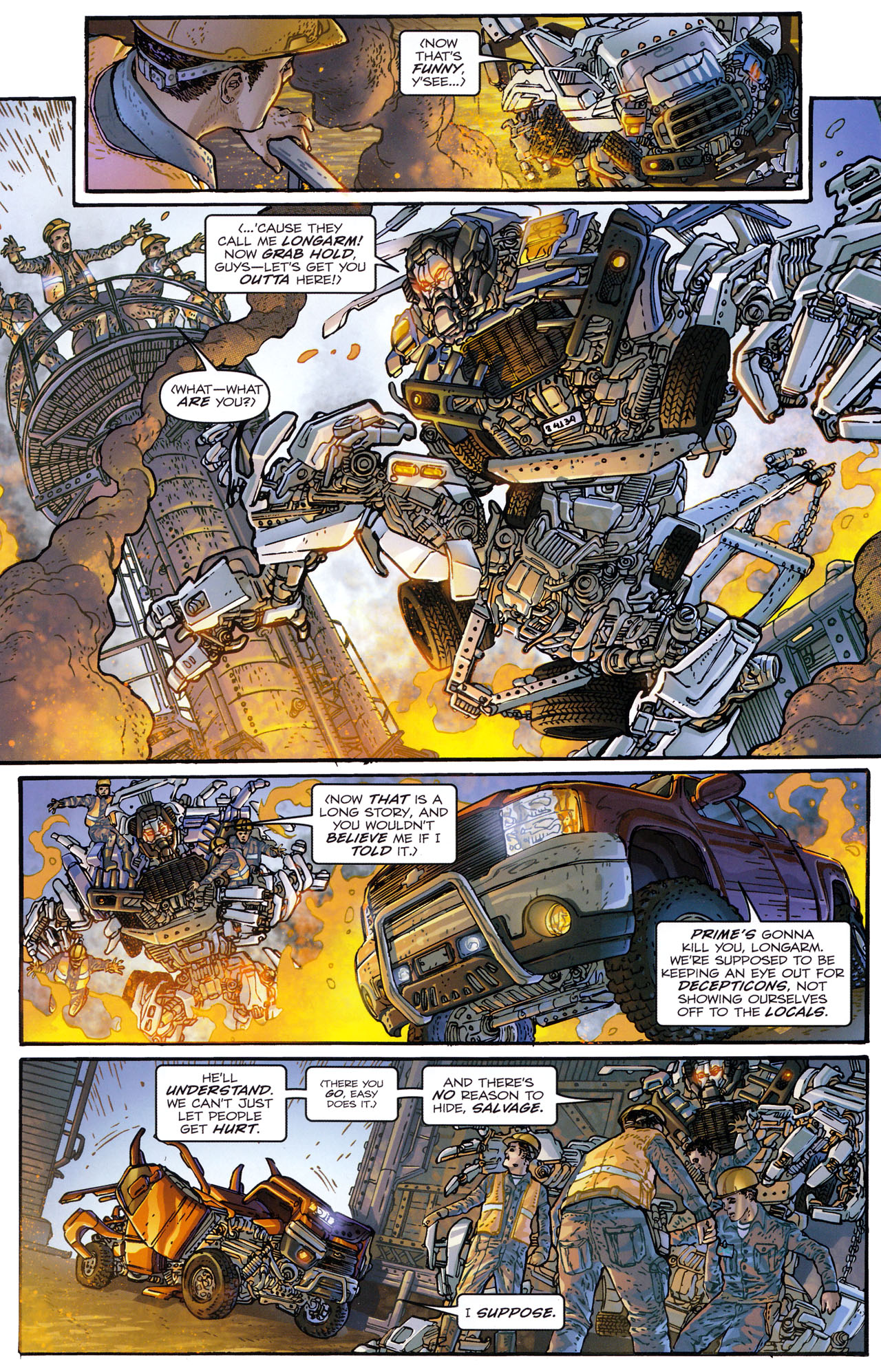 Read online Transformers: Dark of the Moon Rising Storm comic -  Issue #1 - 5