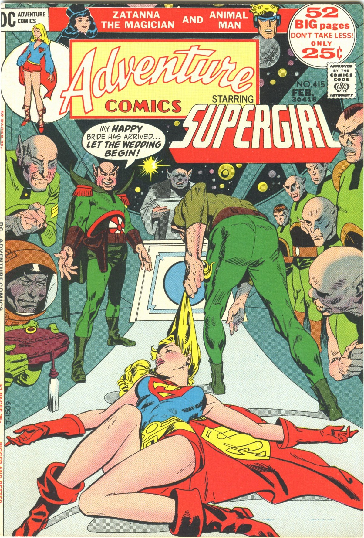 Read online Adventure Comics (1938) comic -  Issue #415 - 1