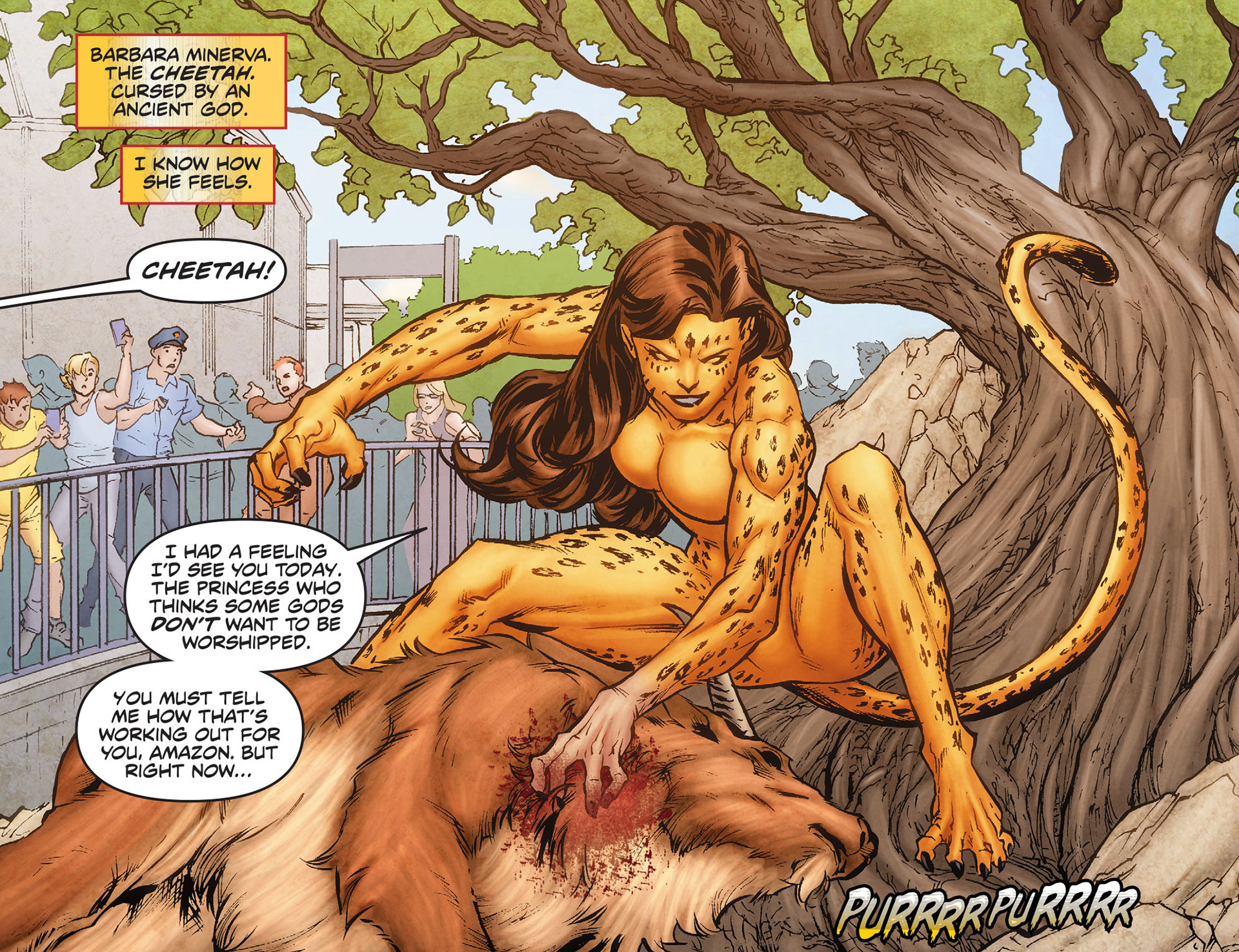 Read online Sensation Comics Featuring Wonder Woman comic -  Issue #6 - 7
