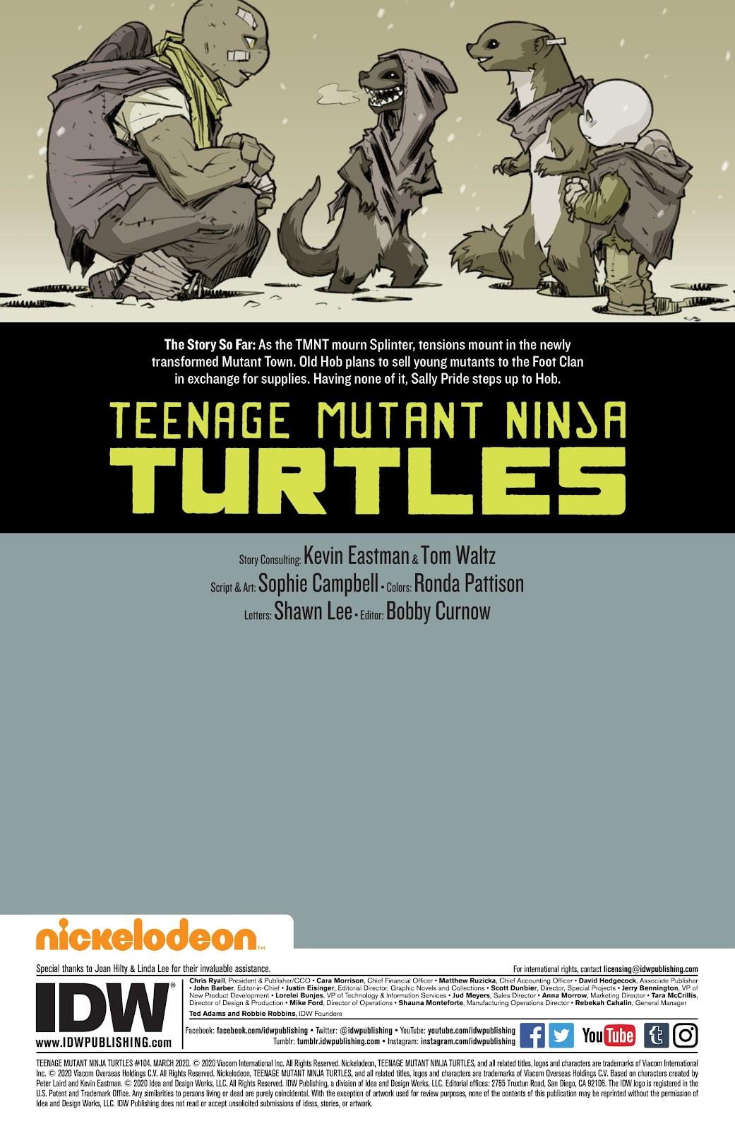 Read online Teenage Mutant Ninja Turtles (2011) comic -  Issue #104 - 2