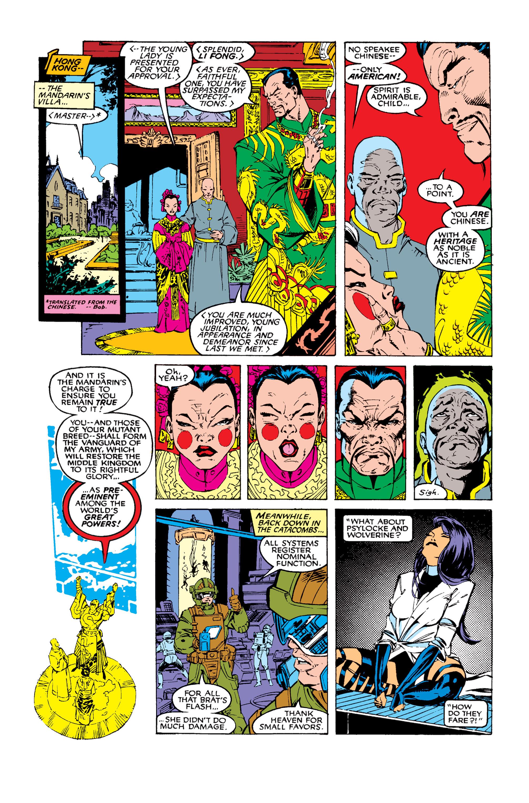 Read online Uncanny X-Men (1963) comic -  Issue #258 - 13