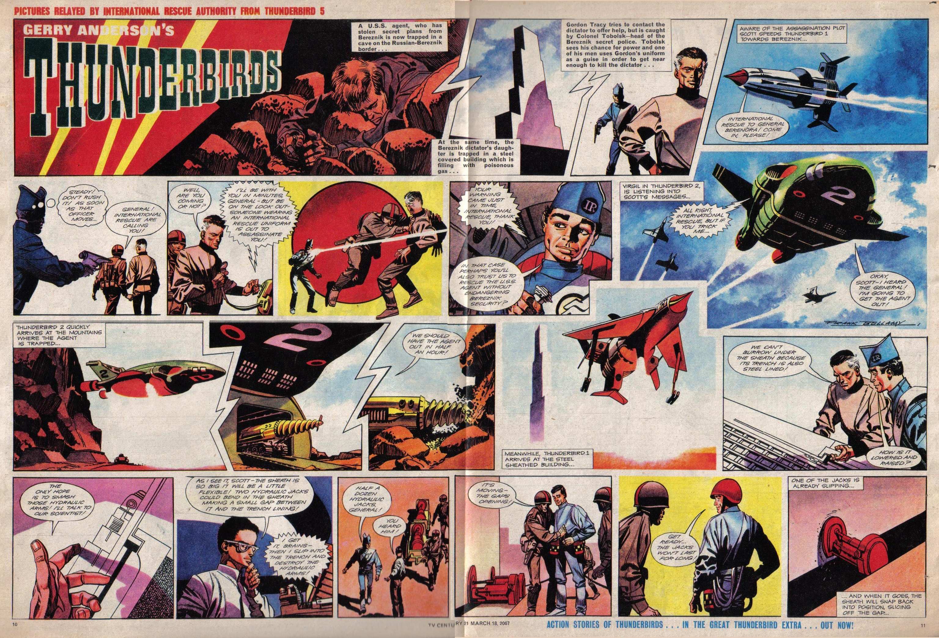 Read online TV Century 21 (TV 21) comic -  Issue #113 - 10