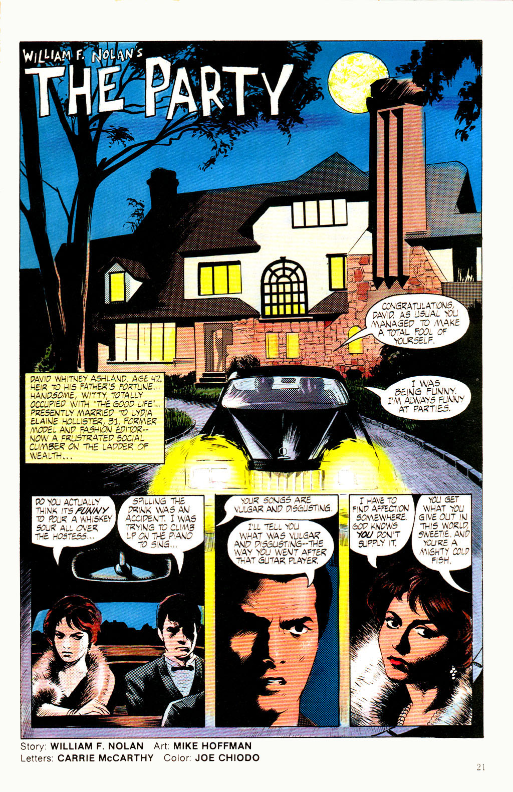 Read online Twisted Tales (1982) comic -  Issue #8 - 23