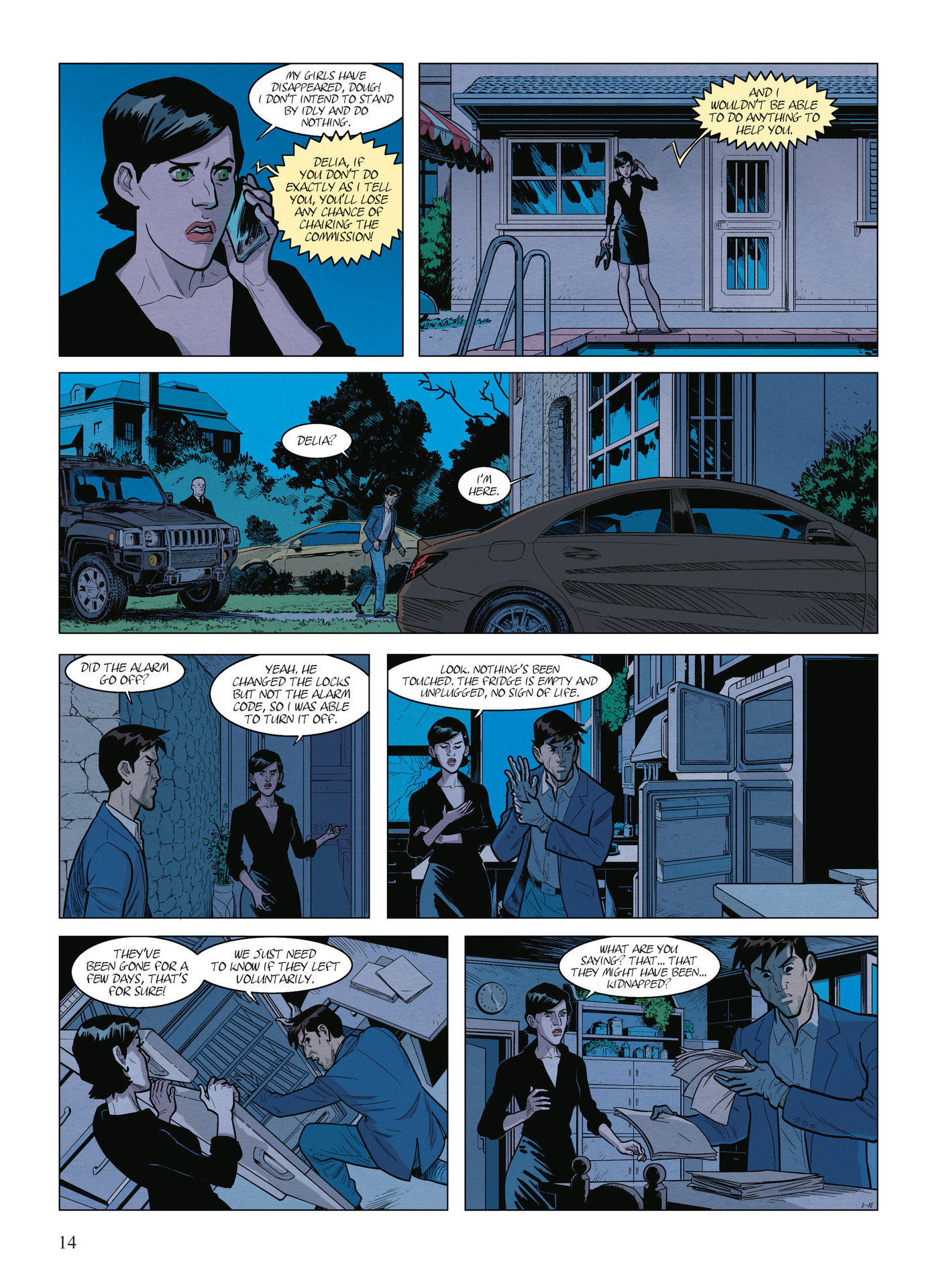 Read online Alter Ego comic -  Issue #9 - 16