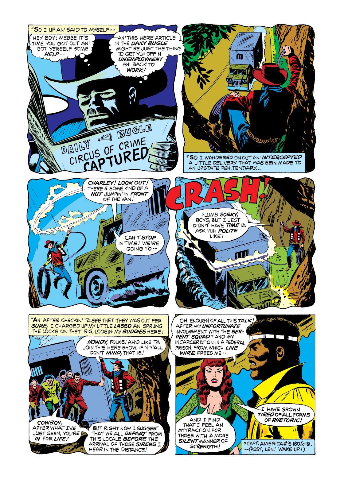 Read online Marvel Masterworks: Luke Cage, Power Man comic -  Issue # TPB 2 (Part 2) - 66