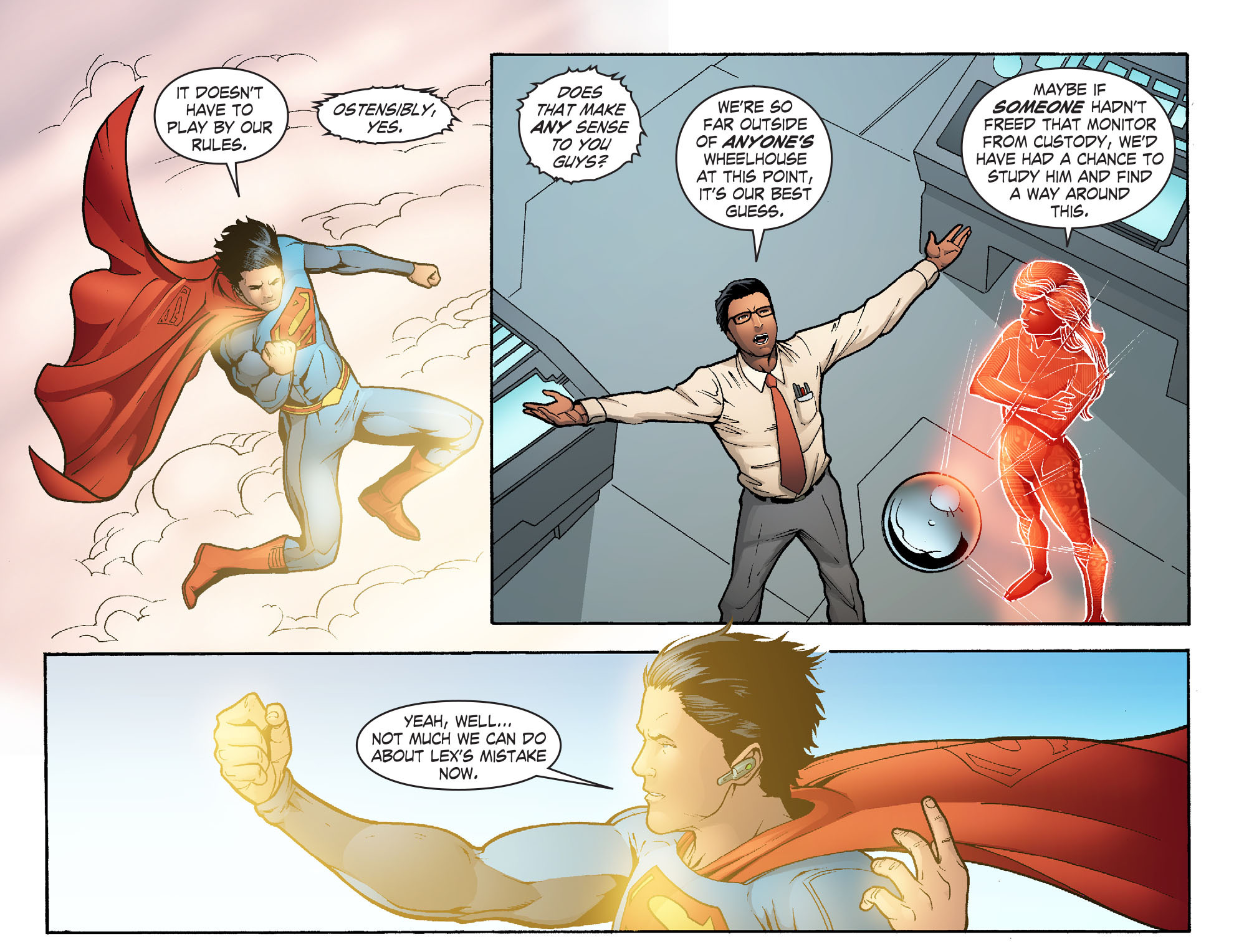 Read online Smallville: Alien comic -  Issue #10 - 19