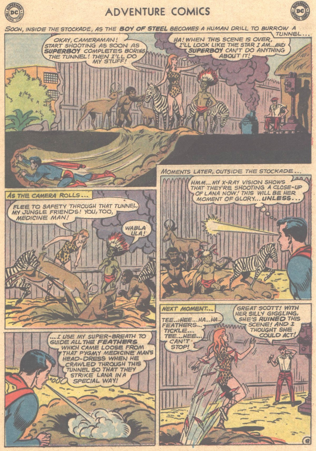 Read online Adventure Comics (1938) comic -  Issue #312 - 29