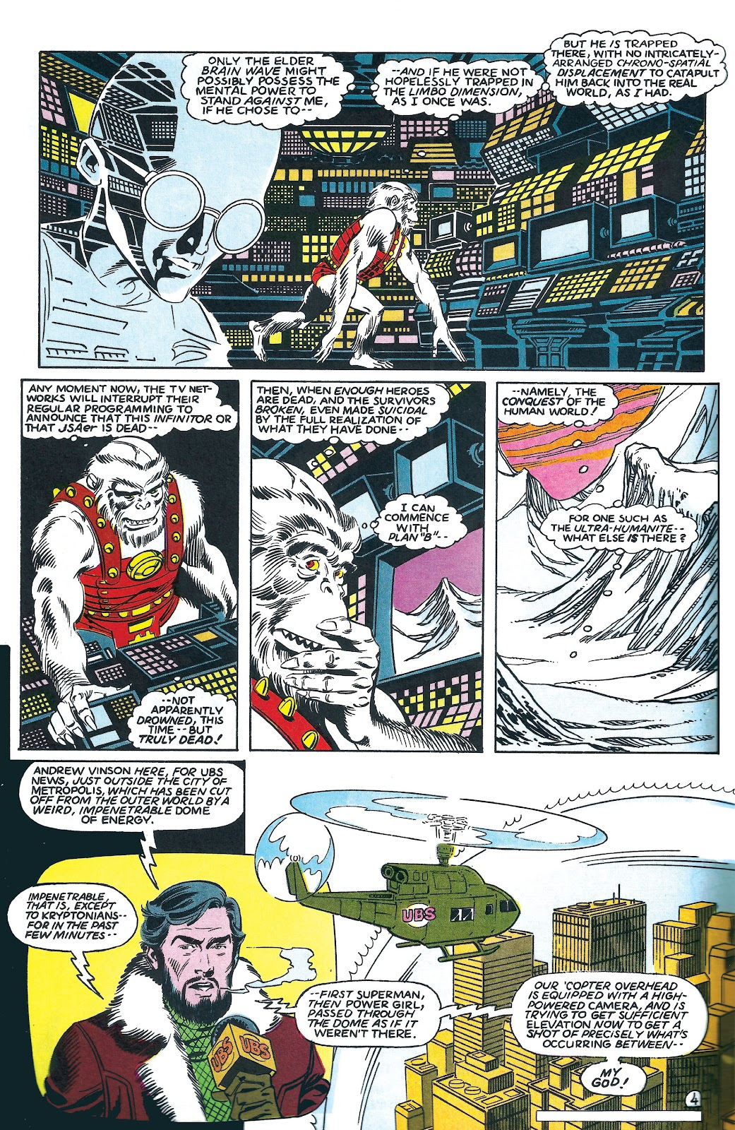 Infinity Inc. (1984) issue 7 - Page 4