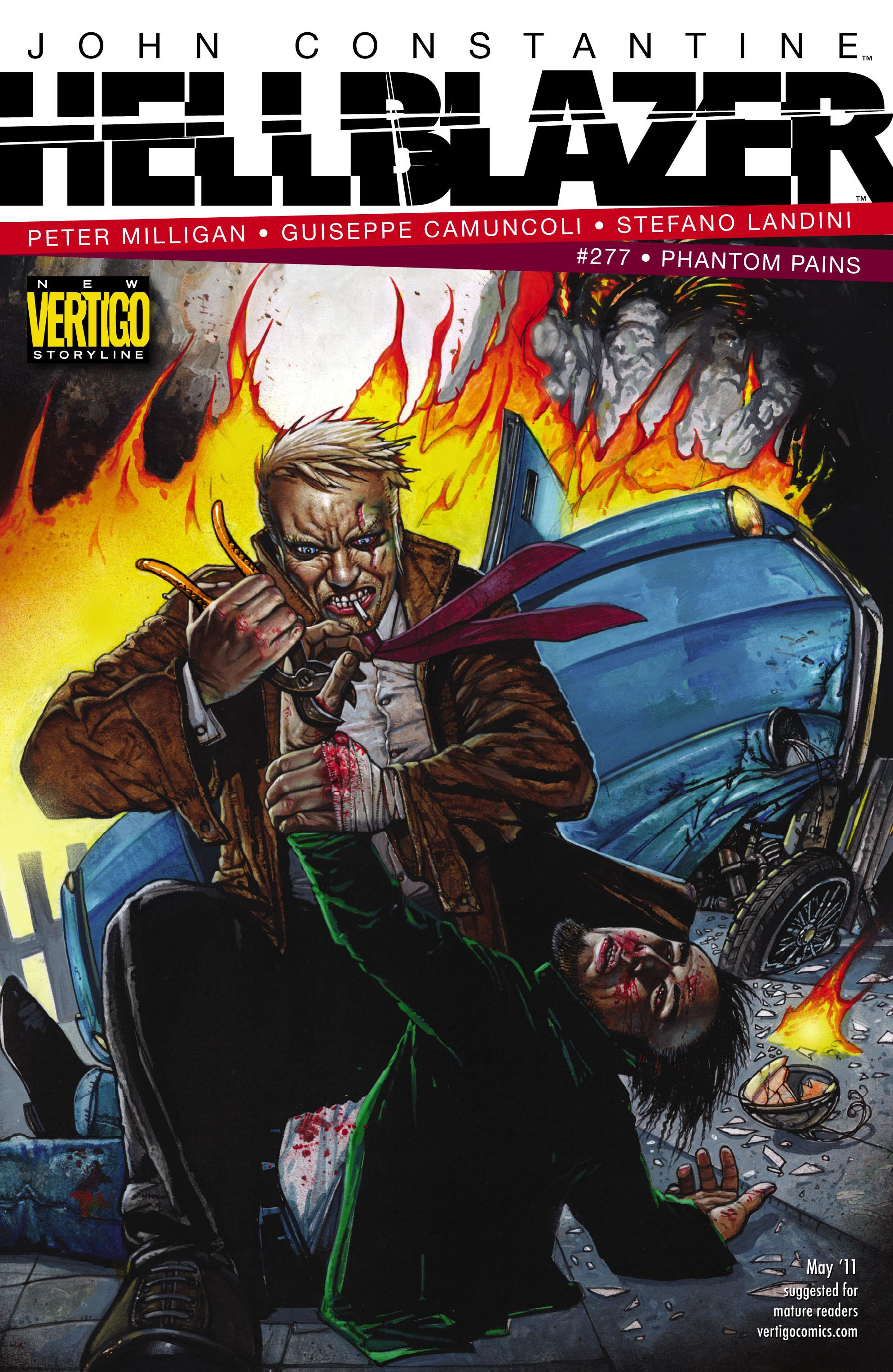 Hellblazer issue 277 - Page 1