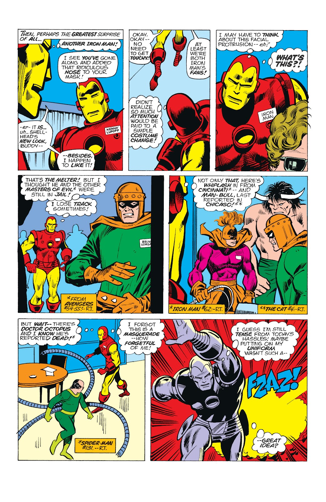 Read online Marvel Masterworks: The Invincible Iron Man comic -  Issue # TPB 10 (Part 1) - 90