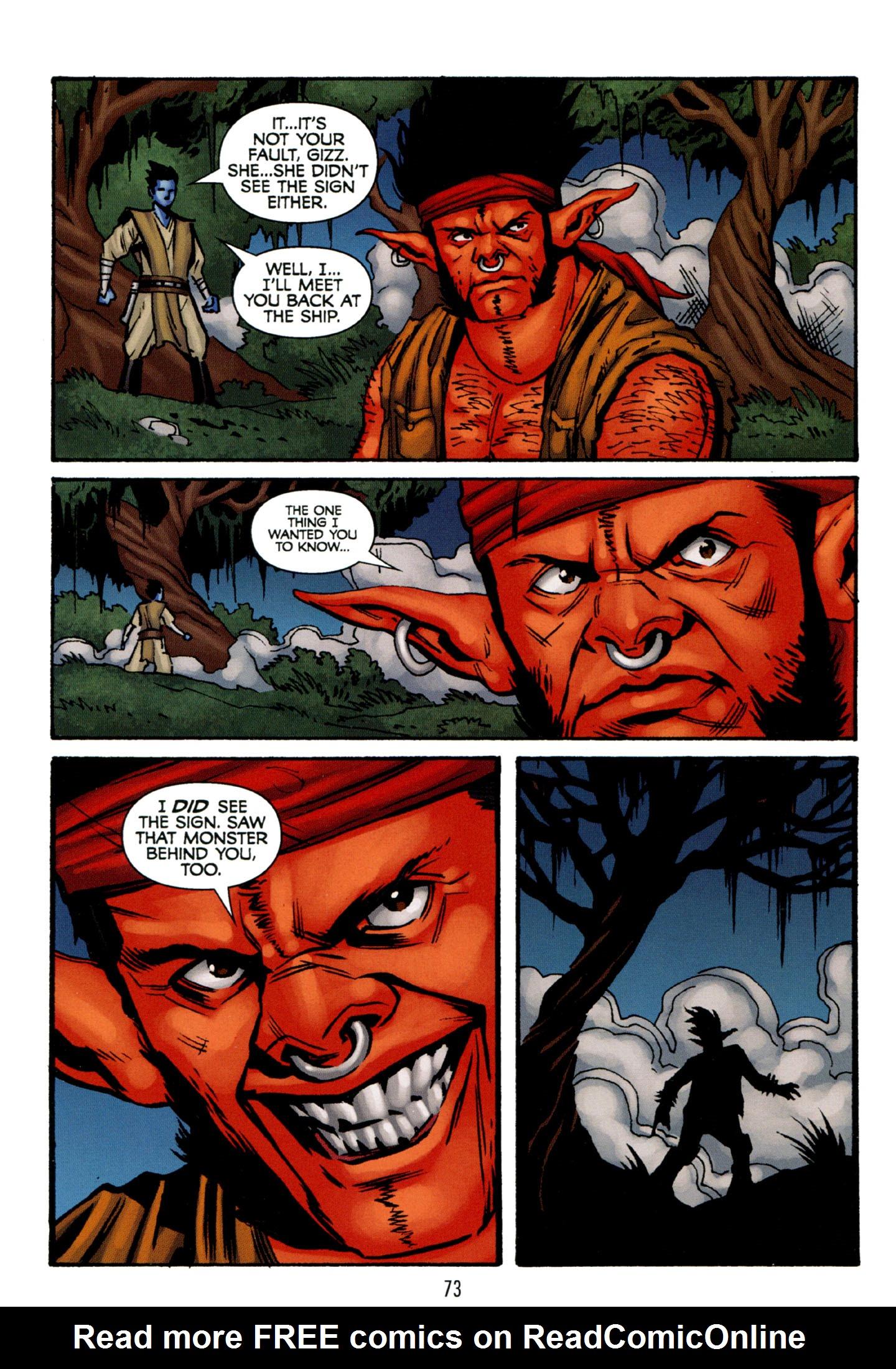 Read online Star Wars: The Clone Wars - Strange Allies comic -  Issue # Full - 74