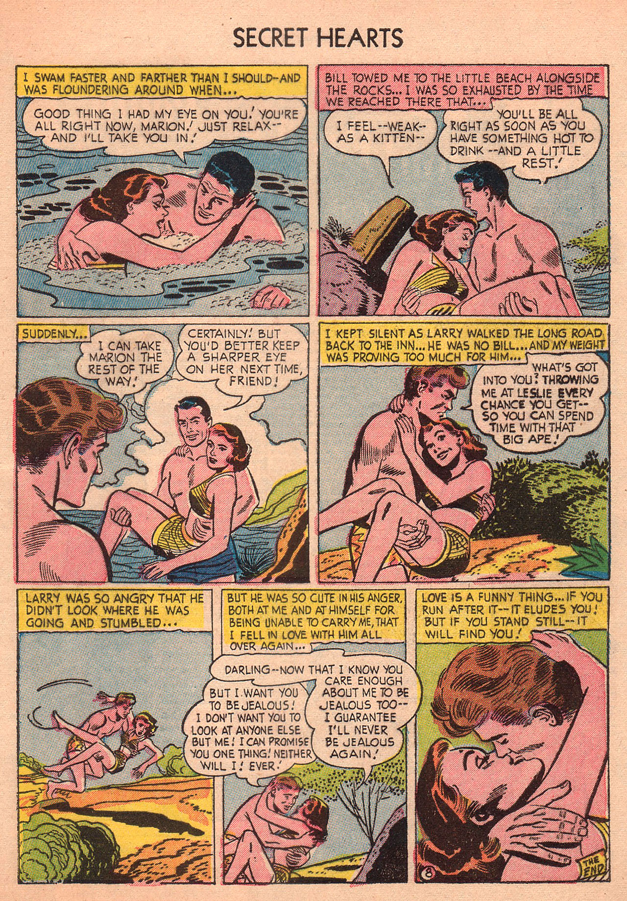 Read online Secret Hearts comic -  Issue #23 - 33