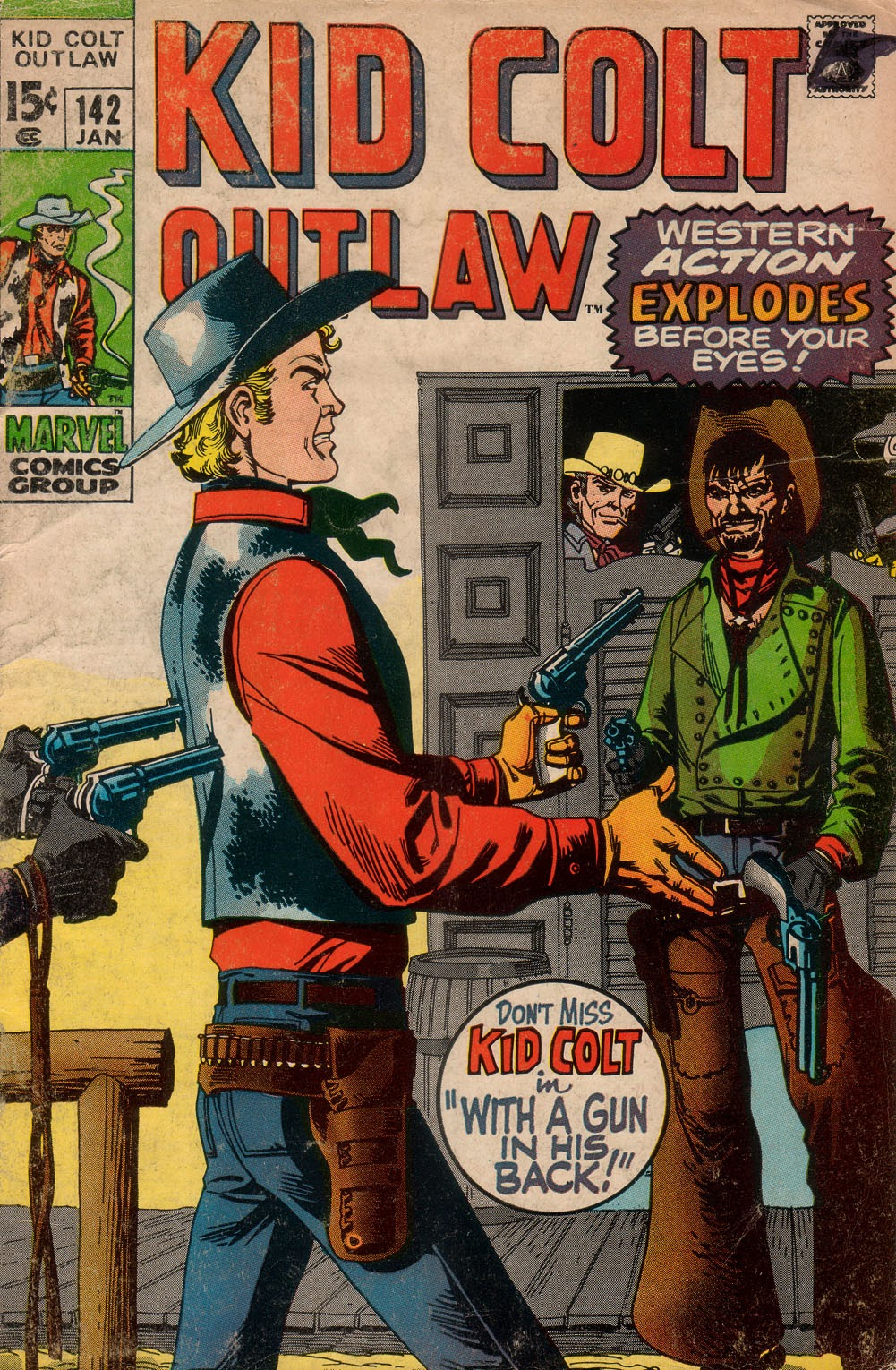 Kid Colt Outlaw issue 142 - Page 1