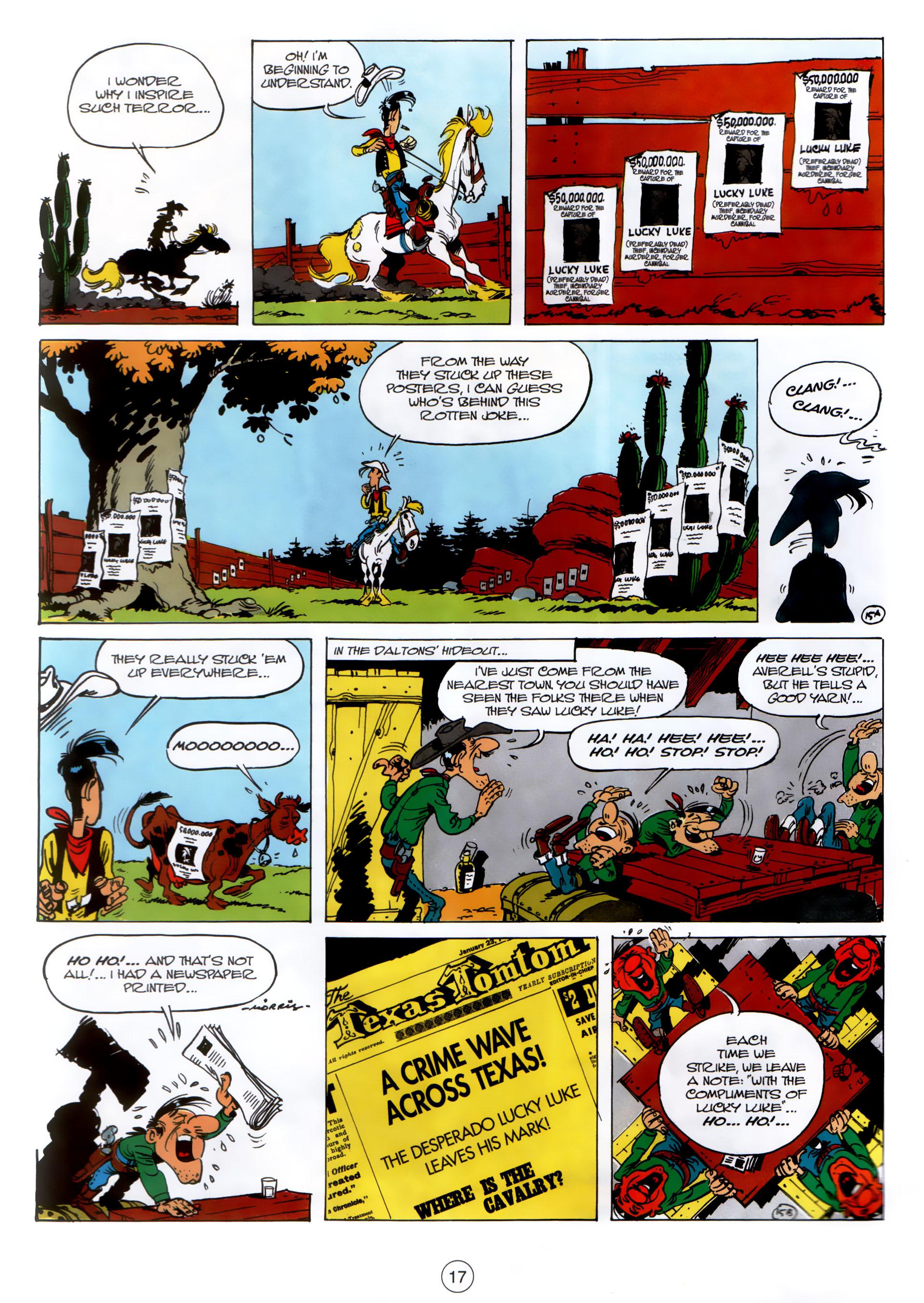 Read online A Lucky Luke Adventure comic -  Issue #30 - 16