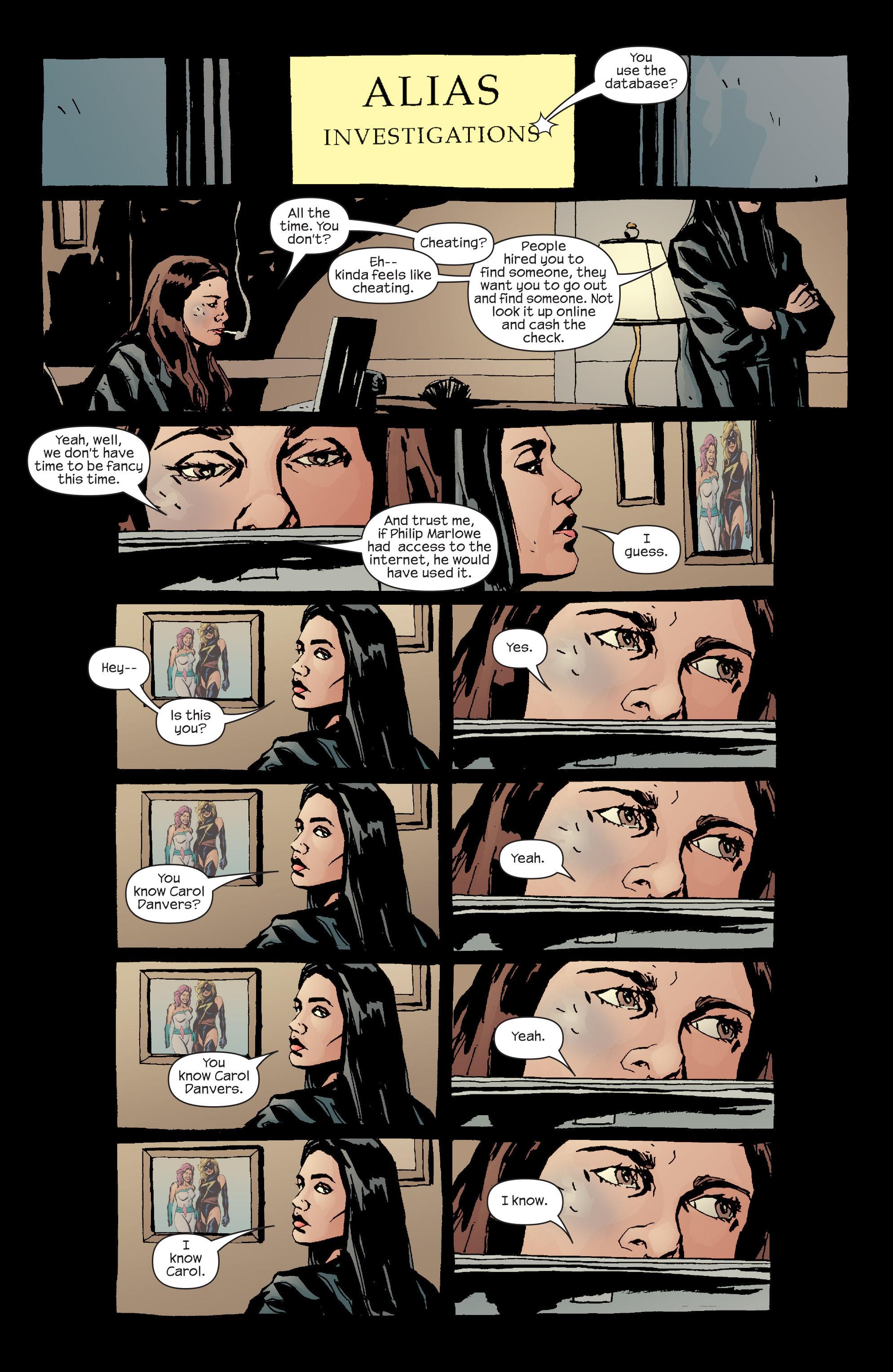 Read online Alias comic -  Issue #20 - 11