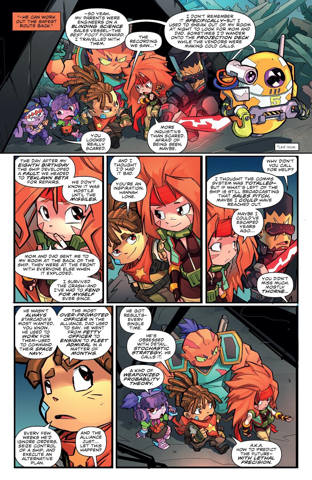 Read online Starcadia Quest comic -  Issue #3 - 9