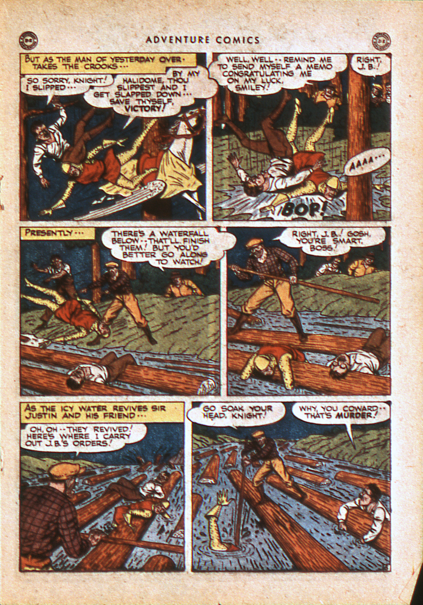 Read online Adventure Comics (1938) comic -  Issue #113 - 26