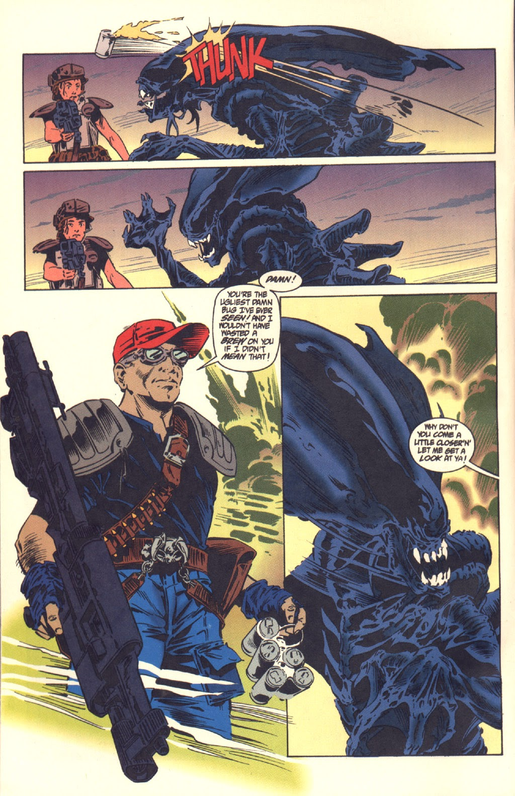 Read online Aliens: Colonial Marines comic -  Issue #6 - 9