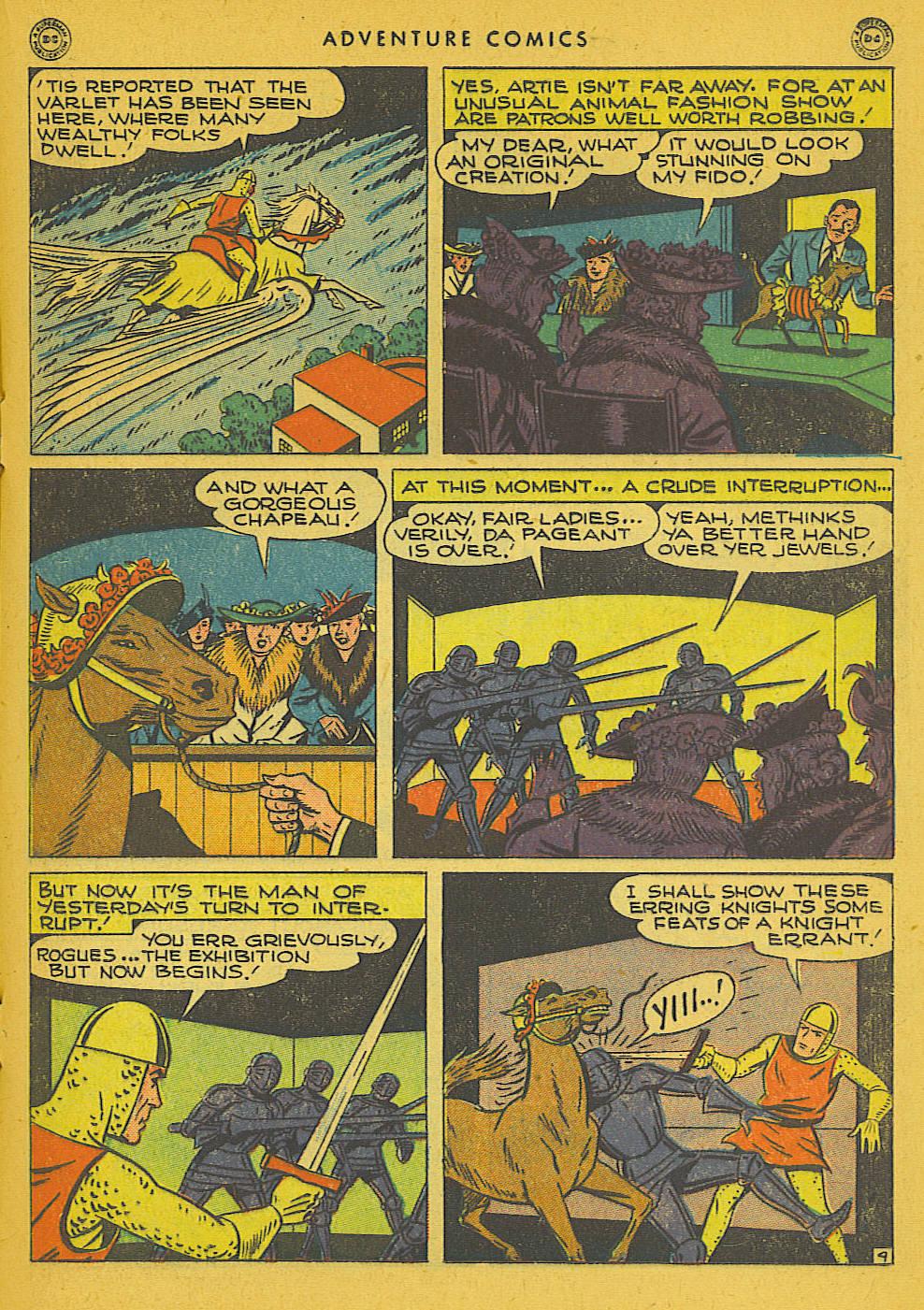 Read online Adventure Comics (1938) comic -  Issue #102 - 22