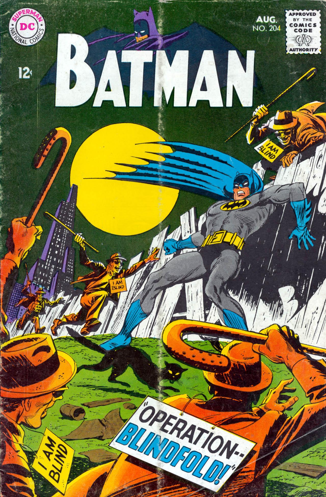 Batman (1940) 204 Page 1
