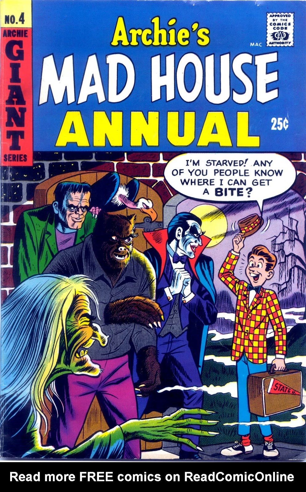 Archie's Madhouse issue Annual 4 - Page 1